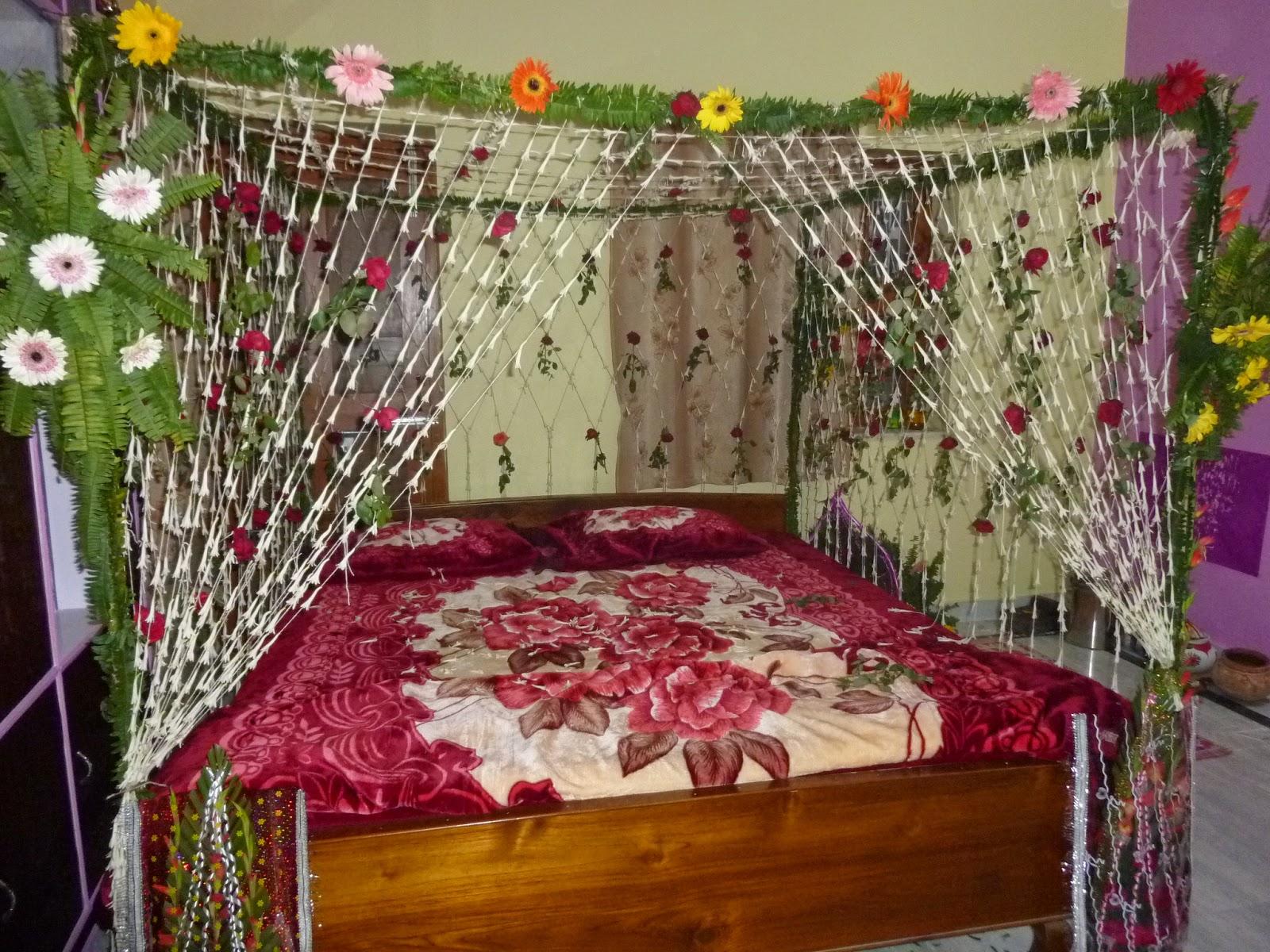 Bedroom decorating ideas for wedding night - Wedding Bedroom Decorations Cukjatidesign