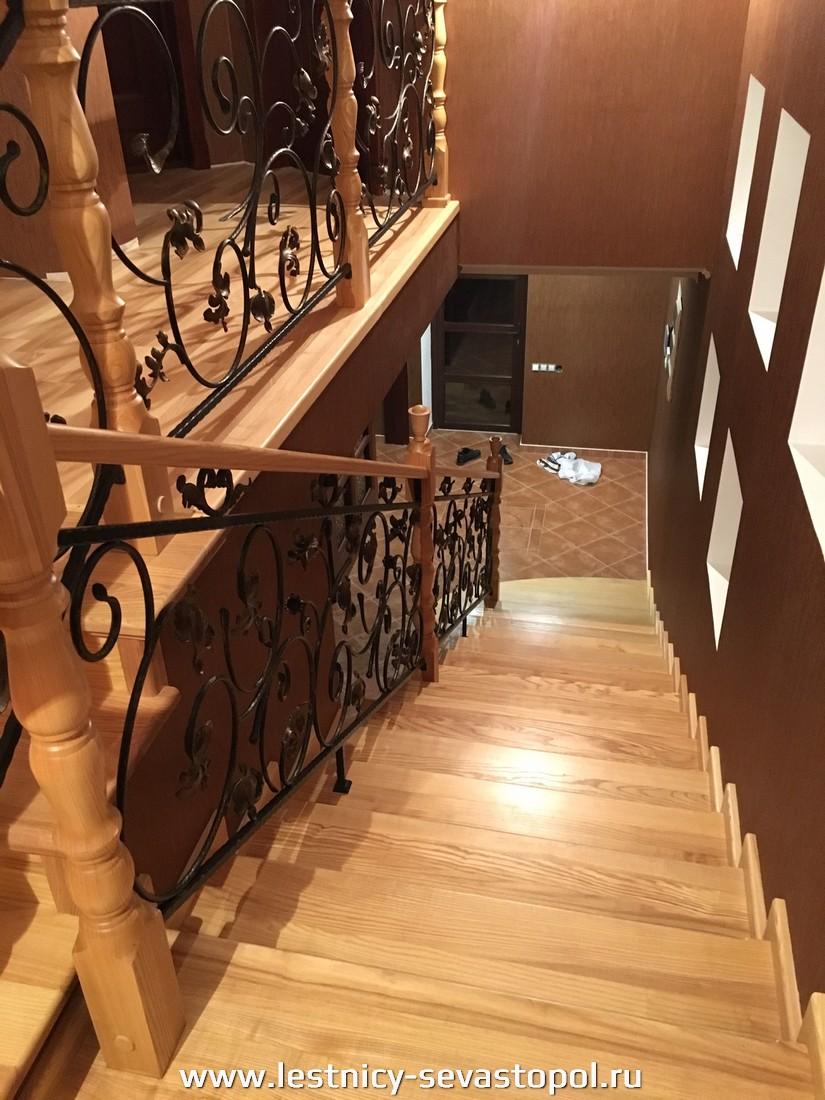Расчет каркаса лестницы