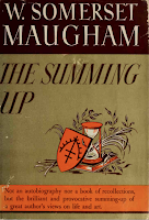 The Summing Up, 1938 The Literary Guild of America - W. Somerset Maugham