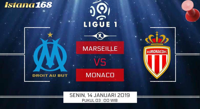 Prediksi Marseille vs Monaco 14 Januari 2019