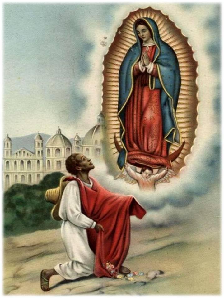 La Virgen De Guadalupe Y Juan Diego >> ORACIONES PARA DINERO Y FORTUNA: ORACIÓN A SAN JUAN DIEGO PARA PEDIR FAVORES ECONÓMICOS