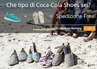 Logo Coca-Cola Shoes : speciale Running + infradito e codice sconto