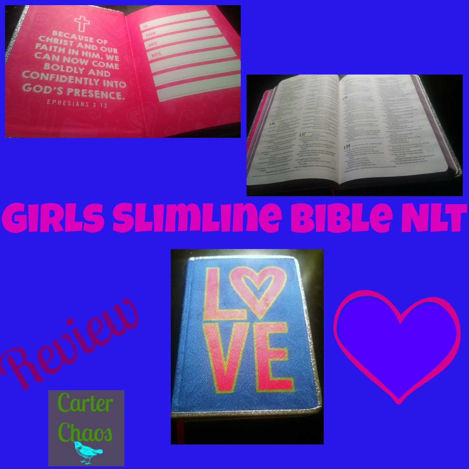 carter chaos a bible for your girly girl
