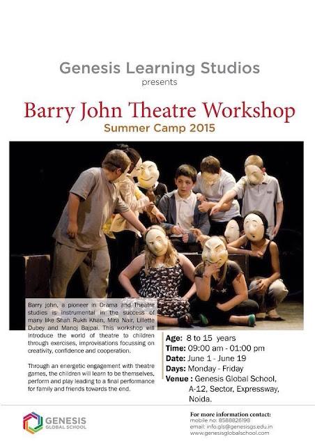 Barry John Theater Workshop in Noida