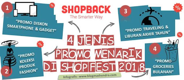 Promo Menarik Saat ShopFest 2018 - Blog Mas Hendra