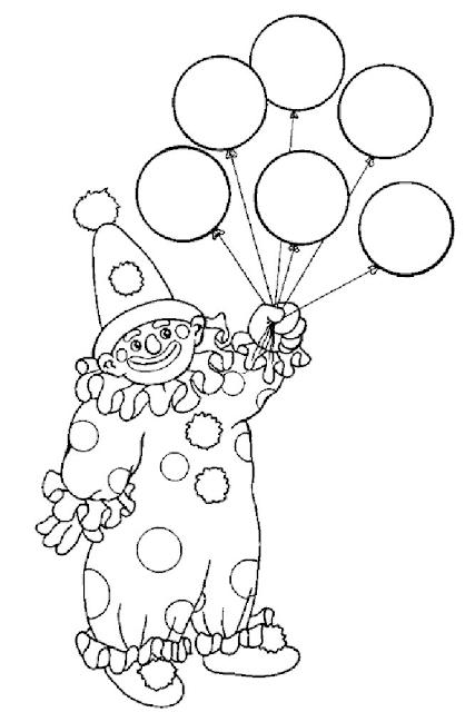 Gambar Mewarnai Balon - 11