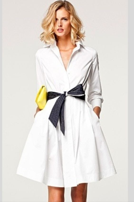 Vestido camisero mujer