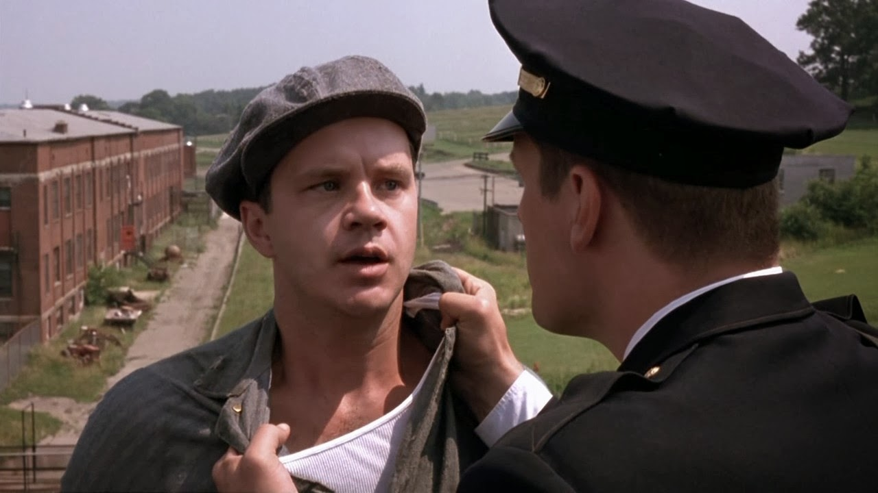 movie review the shawshank redemption 1994 the ace black blog a generally faithful adaptation of a stephen king novella the shawshank redemption is a dazzling achievement director and screenwriter frank darabont
