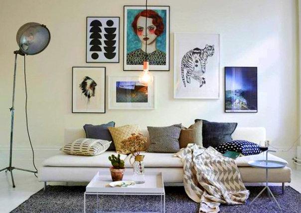 10 Γενικοί τρόποι για να διακοσμήσετε το σαλόνι σας σε μοντέρνο στυλ