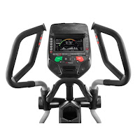 "Bowflex E216's Burn Rate Console with 7.5"" LED color backlit screen, Bluetooth compatible, 4 user profiles"
