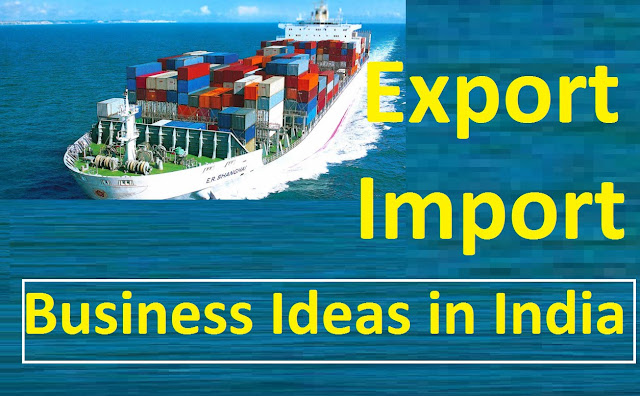 oversea business Import or export