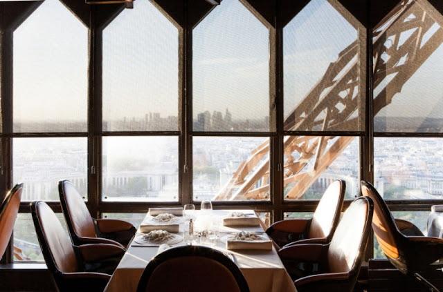 Restaurante Le Jules Verne em Paris