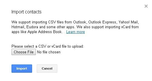 Upload VCF file