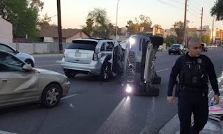 أوبر تعلق برنامجها للسيارات الذاتية  بعدما اصطدمت إحدى سياراتها