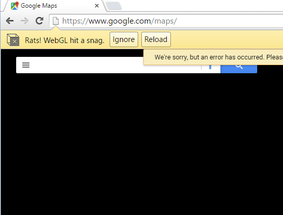 Rats Webgl Hit A Snag Error