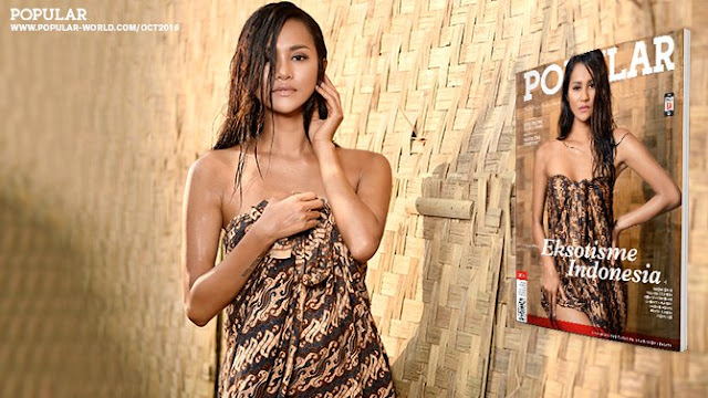 POPULAR Angels Gallery Laras Monca On The Cover POPULAR No.345 Oktober 2016 | www.insight-zone.com