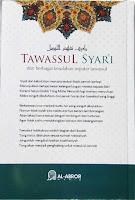 Buku Tawassul Syar'i dan Berbagai Kesalahan Seputar Tawassul