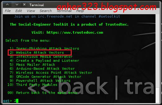 Website Attack Vectors