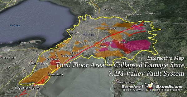 Interactive Risk Analysis Map of the Valley Fault System