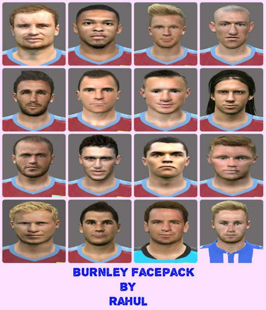 PES 2016 Burnley Facepack 2016