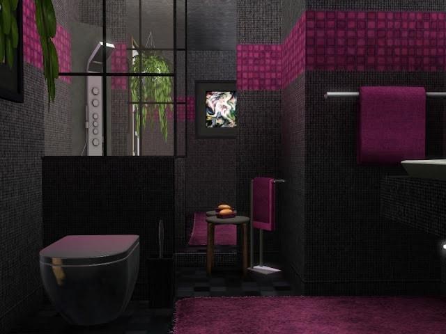 salle de bain design sims 3