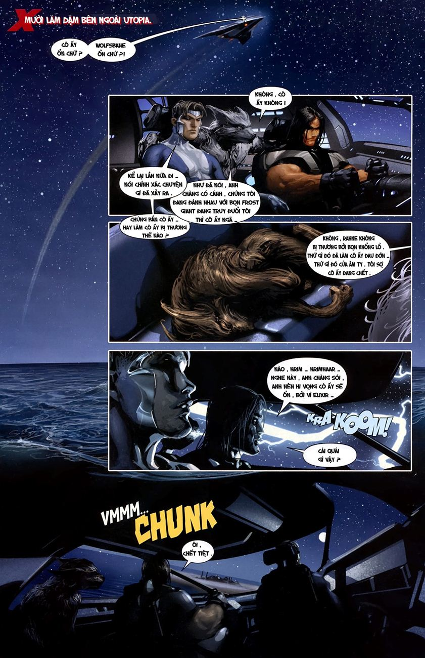 X-Men Necrosha chap 1 trang 18