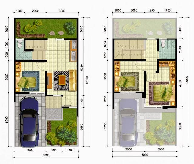 Desain Rumah Minimalis 2 Lantai Luas Tanah 72 Foto Desain Rumah