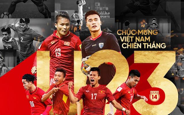 u23 Việt Nam vào chung kết