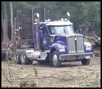 Goodson Logging Kenworth W990