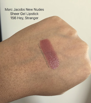 Marc Jacobs New Nudes Sheer Gel 156 Hey, Stranger swatch