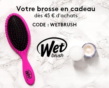 Une brosse wet Brush offerte dès 44,99€ d'achats
