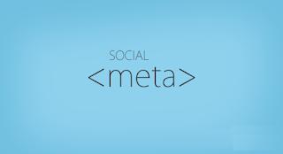 Facebook, Twitter, Google+, Pinterest Social Meta Tags