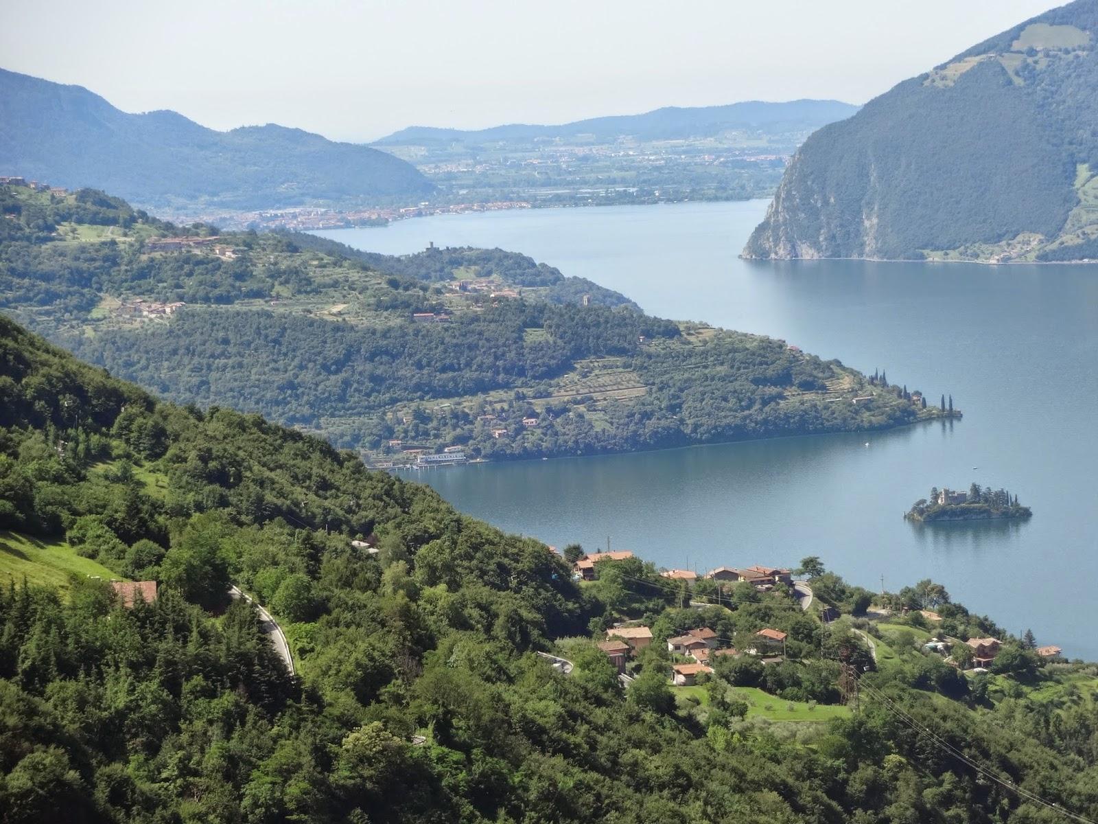 озера италии изео