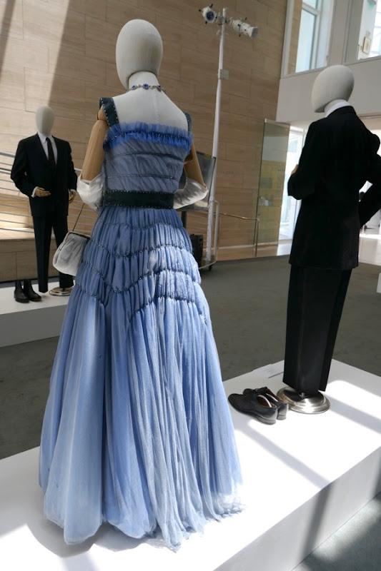 Queen Elizabeth dinner gown back Crown season 2