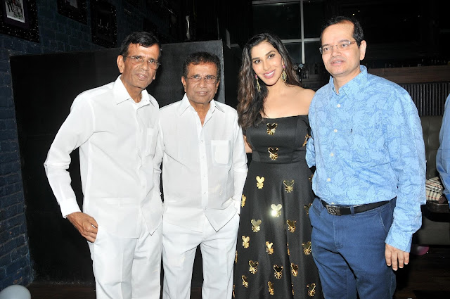 Abbas Mastan with Sophie Choudry and Champak Jain