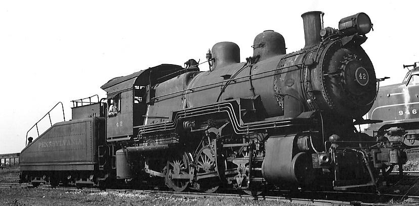 Eddie's Rail Fan Page: Pennsylvania Railroad 0-6-0 steam