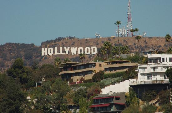 Hollywood sign hollywood