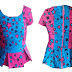 Know about today's trend in Fashion Industry | The African Print Peplum Tops