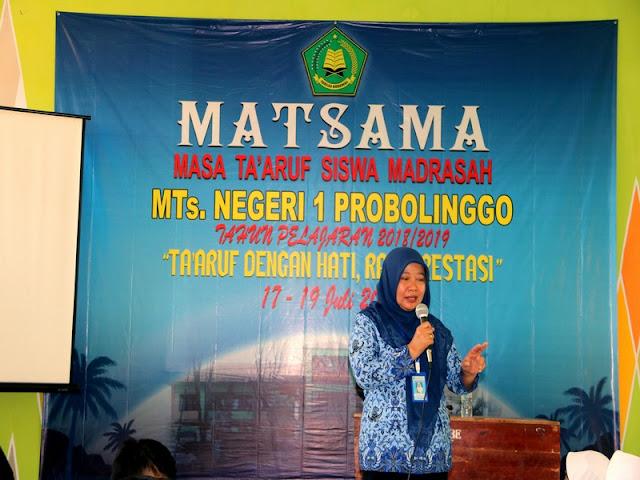 Pembukaan MATSAMA MTsN 1 Probolinggo 2018