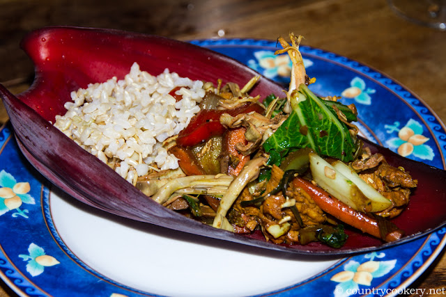 Banana Flower Dish