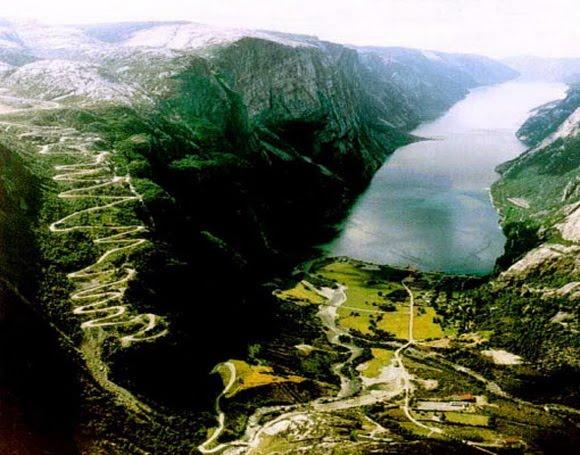 Lysebotn Road – Noruega