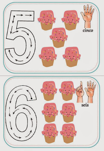 numerais e quantidade ed infantil