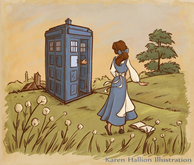 Love Each Other When Two Souls: Doctor Who Meets Disney: When Worlds Collide