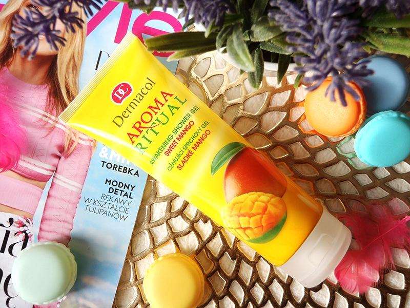 dermacol żel pod prysznic, dermacol żel pod prysznic mango, dermacol słodkie mango