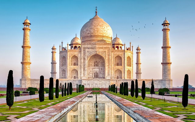 Taj Mahal is the Icon of India to flourish.It is also the high attraction to visitor around the Globe.