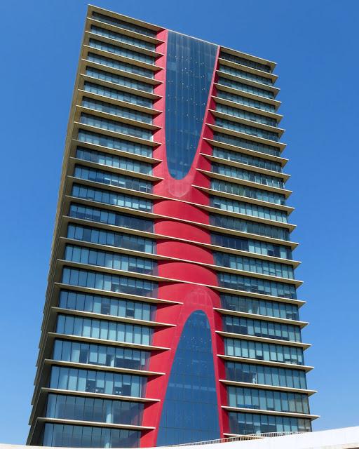 Torre Realia BCN by Toyo Ito, Plaça d'Europa, L'Hospitalet de Llobregat, Barcelona