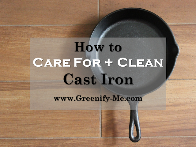 how to care for and clean cast iron
