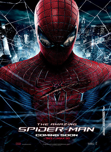The Amazing Spider-Man Movie Poster - with Andrew Garfield