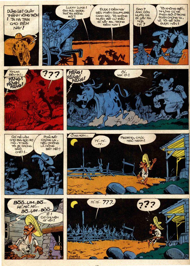 Lucky Luke tap 3 - doan lu hanh trang 37