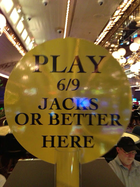 Four Queens 9/6 Jacks or Better Video Poker